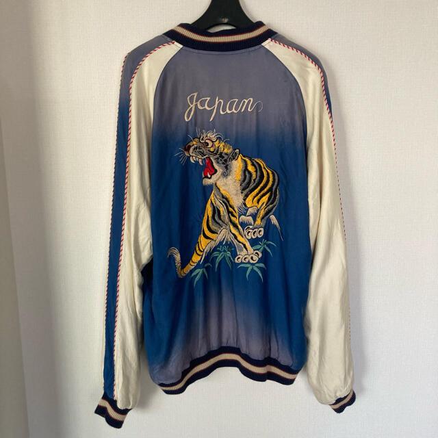 東洋エンタープライズ(トウヨウエンタープライズ)のbeams購入 東洋 スカジャン リバーシブル メンズのジャケット/アウター(スカジャン)の商品写真