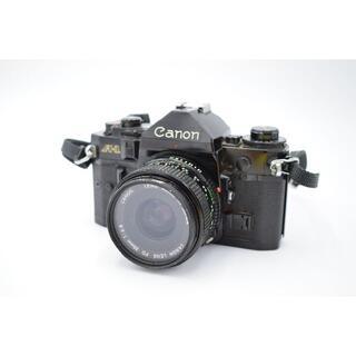 キヤノン(Canon)の9091 Canon A-1 + New FD 35mm 2.8 キヤノン(フィルムカメラ)