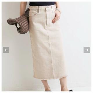 イエナ(IENA)のIENA 【upper hights】別注 THE CAMBELL スカート(ロングスカート)