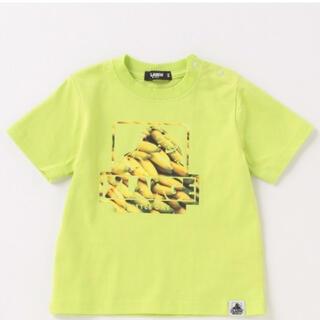 エクストララージ(XLARGE)のXLARGE KIDS⭐︎バナナ柄OGゴリラ半袖Tシャツ 130  難あり(Tシャツ/カットソー)