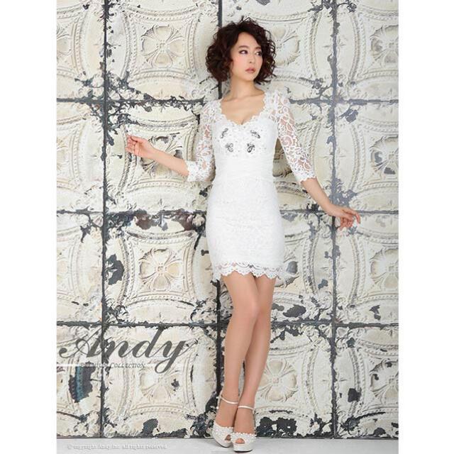 Andy(アンディ)のANDY(アンディ) キャバドレス レディースのフォーマル/ドレス(ミニドレス)の商品写真