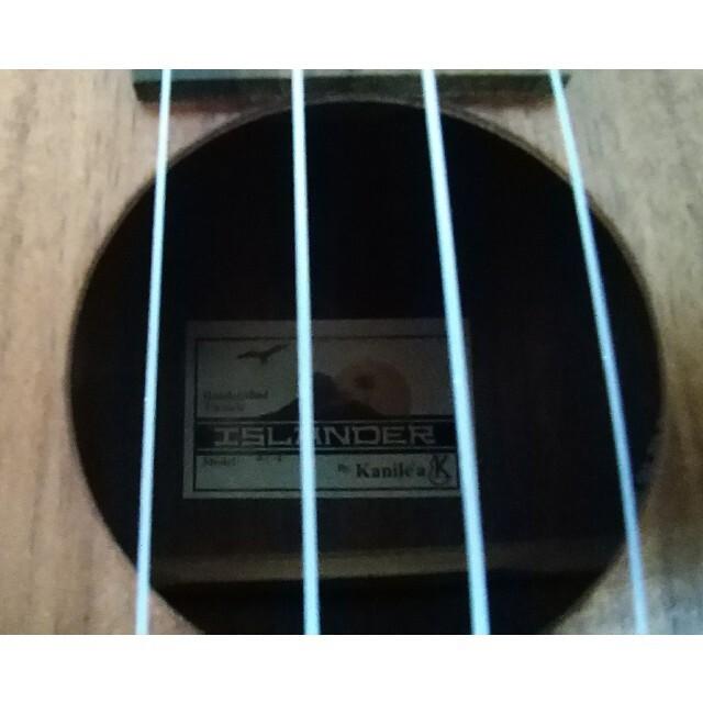 ウクレレ islander Modeel AT-4 ケース付き 楽器のウクレレ(その他)の商品写真