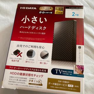 IODATA - 【デメキン様専用】アイオーデータ 小さいハードディスク 2TB