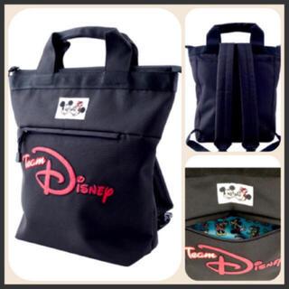 Disney - 新品タグ付き❣️最安値!4000円ディズニーリゾートチームディズニーリュック