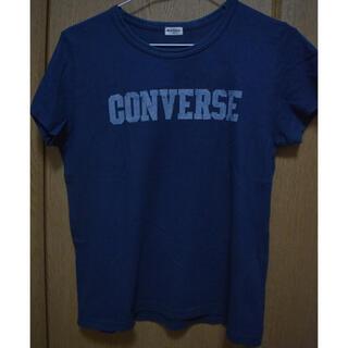 CONVERSE - 紺色 Tシャツ