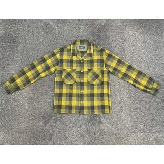 TENDERLOIN - ★【美品】TENDERLOIN テンダーロイン ウール100% チェックシャツS