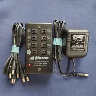 Maxon パワー・ディストリビューター PD01(エフェクター)