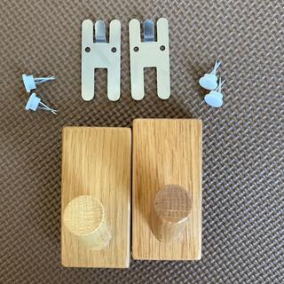 ムジルシリョウヒン(MUJI (無印良品))の無印良品 壁につけられる家具 フック2個(その他)
