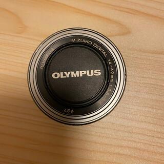 OLYMPUS - ネコポス割引☆OLYMPUS M ED14-42F3.5-5.6 シルバー