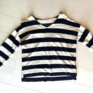 ユナイテッドアローズ(UNITED ARROWS)のボーダーシャツ 7分丈(Tシャツ(長袖/七分))