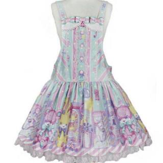 アンジェリックプリティー(Angelic Pretty)のAngelic Pretty  Toy Doll Box サロペット  ミント(サロペット/オーバーオール)