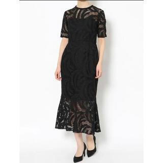 ラグナムーン(LagunaMoon)のラグナムーン 上品ドレス(ミディアムドレス)