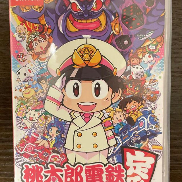 Nintendo Switch(ニンテンドースイッチ)の桃太郎電鉄 エンタメ/ホビーのゲームソフト/ゲーム機本体(家庭用ゲームソフト)の商品写真