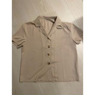 グレイル(GRL)のGRL シャツ ブラウス 半袖 レディース M(シャツ/ブラウス(半袖/袖なし))