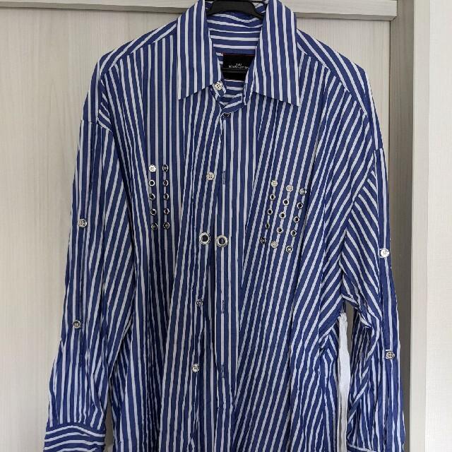 syu homme/femm 21ss ストライプシャツ 1 メンズのトップス(シャツ)の商品写真