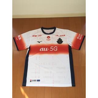 ミズノ(MIZUNO)の名古屋グランパス 新品 ユニフォーム サッカー フリーサイズ 半袖Tシャツ(ウェア)