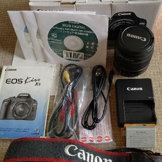Canon - キャノン EOS Kiss X3 レンズキット