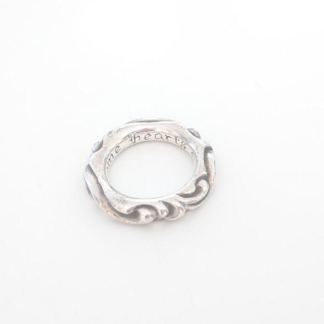 Chrome Hearts(クロムハーツ)のクロムハーツ スクロールバンドリング レディースのアクセサリー(リング(指輪))の商品写真