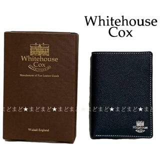 WHITEHOUSE COX - ホワイトハウスコックス Midland Ship別注 2つ折り 財布 ネイビー