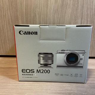 Canon - Canon EOS M200 標準レンズ搭載 カメラバック+sdカード等付き