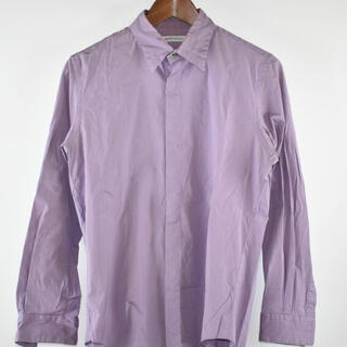 JOHN LAWRENCE SULLIVAN - 19AW ストレッチコットンレギュラーカラーシャツ