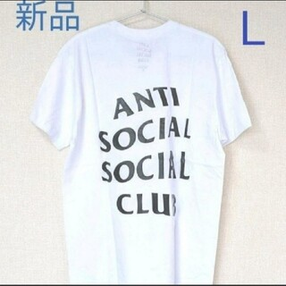 アンチ(ANTI)のANTI SOCIAL SOCIAL CLUB Tシャツ ホワイト L(Tシャツ/カットソー(半袖/袖なし))