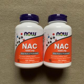 ナウ NAC 1000mg 120粒×2