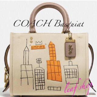 COACH - 新品 コーチ トートバッグ バスキア クロストート ローグ25 ハンドバッグ