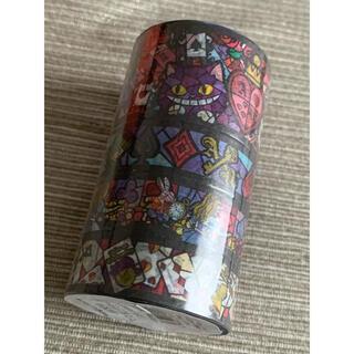 Usako様専用 水曜日のアリス マスキングテープ4巻セット ステンドグラス柄(テープ/マスキングテープ)