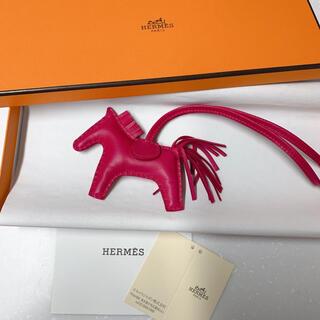 Hermes - HERMES ロデオチャームpm ローズメキシコ エルメス 馬