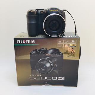 フジフイルム(富士フイルム)のFUJIFILM FinePix デジタルカメラ S2800HD ブラック(コンパクトデジタルカメラ)