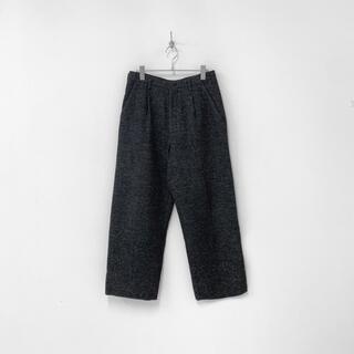 ヨウジヤマモト(Yohji Yamamoto)のY's for men ヨウジヤマモト ウール ワイド スラックス パンツ(スラックス)