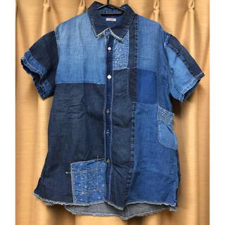 キャピタル(KAPITAL)のKAPITAL KOUNTRY IDG パッチワーク カトマンズシャツ (半袖)(シャツ)