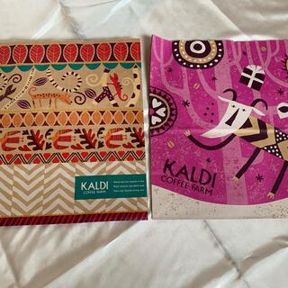 カルディ(KALDI)のKALDI紙バッグ(ショップ袋)