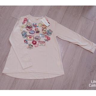 KP - *新品*KP トロワラパン レトロパッケージプリント長袖Tシャツ 140