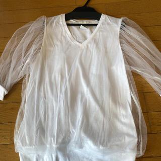 ダブルスタンダードクロージング(DOUBLE STANDARD CLOTHING)のAKKO×Sov.七分トップス(Tシャツ(長袖/七分))