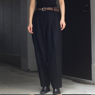 1LDK SELECT - stein EX WIDE TAPERED TROUSERS s