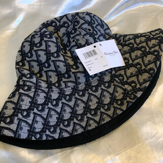Christian Dior - Christian Dior  ロゴ バケットハット ブラック 黒 帽子
