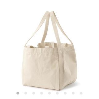 ムジルシリョウヒン(MUJI (無印良品))の無印良品 インド綿持ち手が二つあるトートバッグ 生成(トートバッグ)