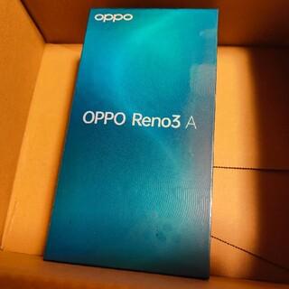 オッポ(OPPO)のOPPO Reno3 A ホワイト Ymobile版 新品未使用(スマートフォン本体)