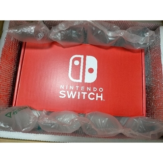 Nintendo Switch - マイニンテンドーストア限定 switch 本体 ネオンレッド×ネオンブルー