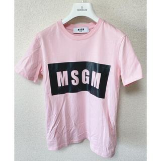 エムエスジイエム(MSGM)の即購入可!! 正規品 MSGM ロゴ Tシャツ★(Tシャツ(半袖/袖なし))