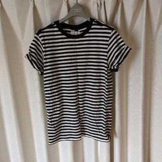 NUMBER (N)INE - soloist ソロイスト ロールアップボーダーTシャツ