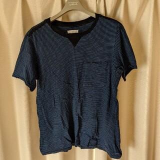 ナンバーナイン(NUMBER (N)INE)のsoloist ソロイスト ボーダーポケットTシャツ(Tシャツ/カットソー(半袖/袖なし))