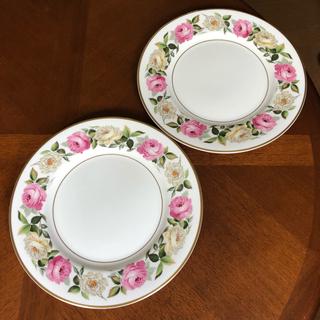 ロイヤルウースター(Royal Worcester)の【レア美品】ロイヤルウースター★ロイヤルガーデン★ディナー皿 2枚(食器)