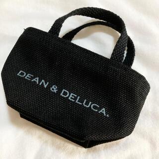 ディーンアンドデルーカ(DEAN & DELUCA)のDEAN&DELUCA ミニトート トートバッグ ミニサイズ 黒 新品(小物入れ)