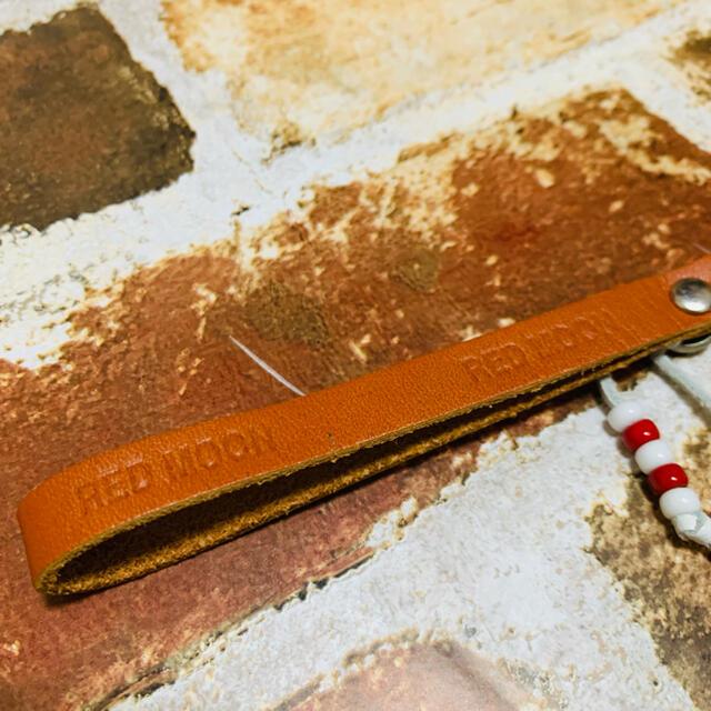REDMOON(レッドムーン)の未使用品レッドムーン ストラップ オイルタン コンチョ付 メンズのアクセサリー(その他)の商品写真