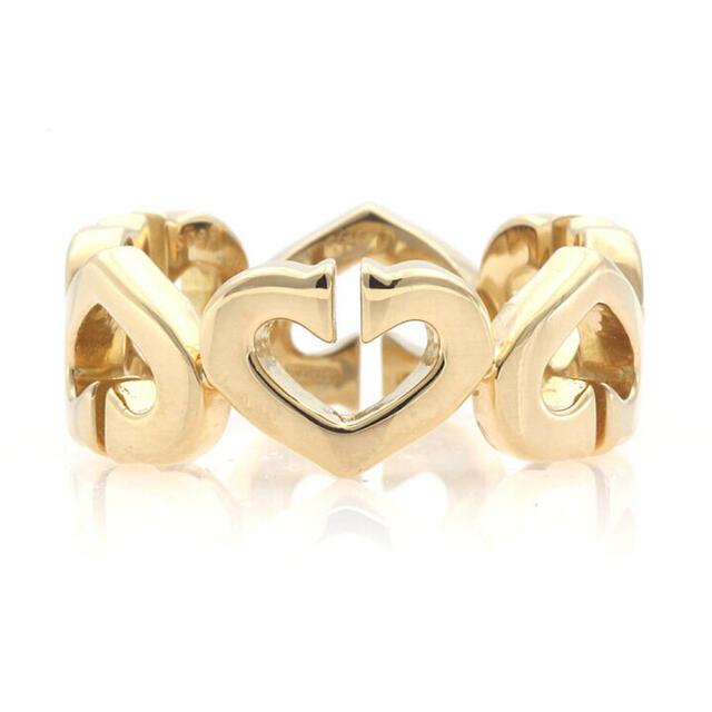 Cartier(カルティエ)の【超美品】カルティエ Cハート K18YG イエローゴールド リング レディースのアクセサリー(リング(指輪))の商品写真