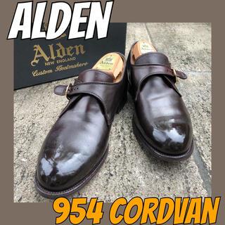 Alden - ■コードバン■オールデン/モンク/ALDEN/9.5/27.5/ストレート/プレ
