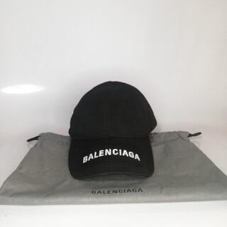 Balenciaga - Balenciaga バイザーロゴキャップ